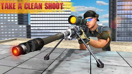 Code Triche Jeux de tir Sniper Warrior: Jeu de tir Sniper APK Mod screenshots 1