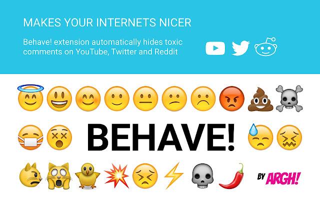 Behave! — Offensive Comments Blocker