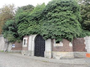 Photo: Aan de muur van het kasteel van de prinsen van Ligne