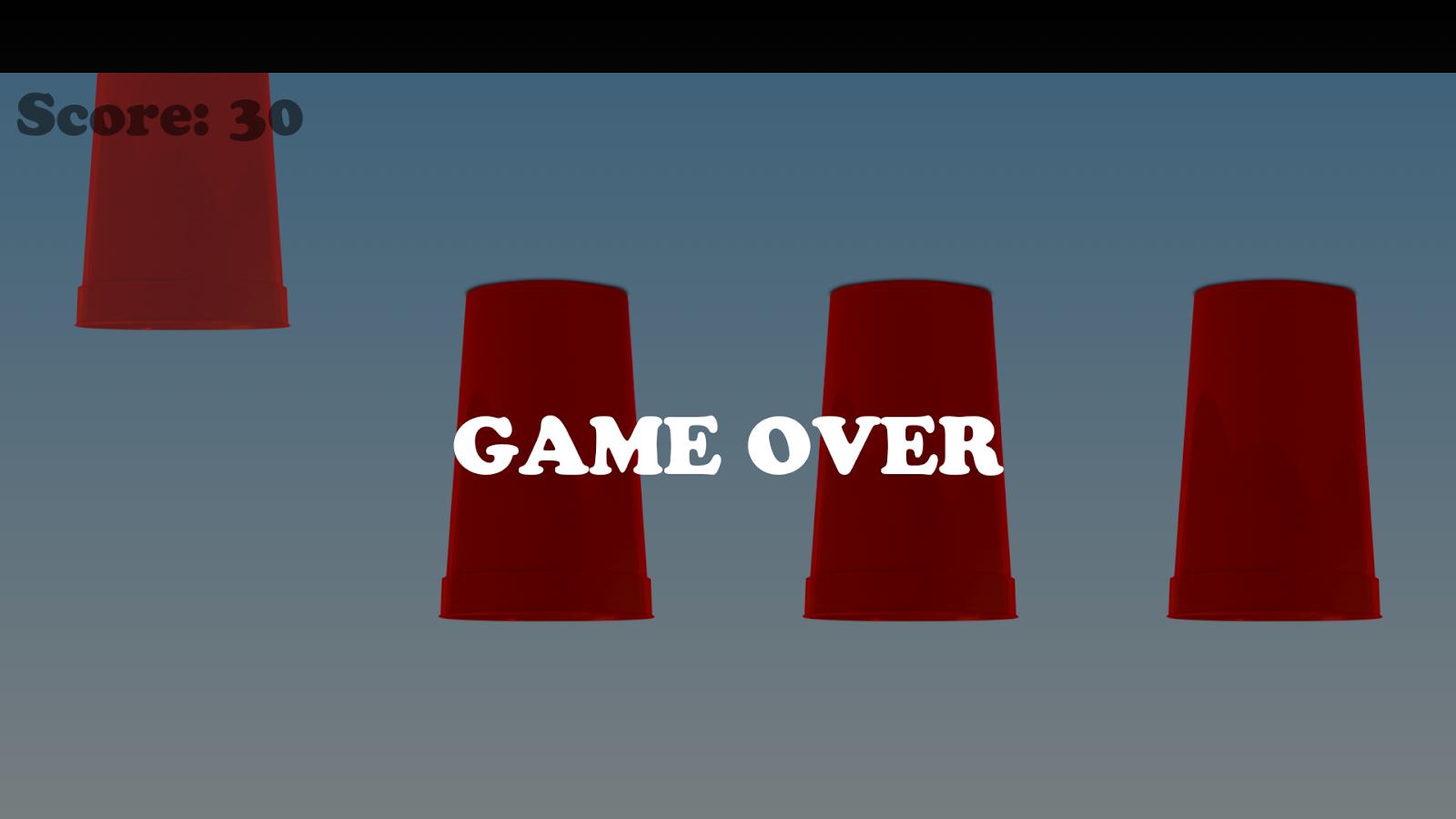 Shell casino game