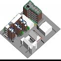Shop Building Plan icon