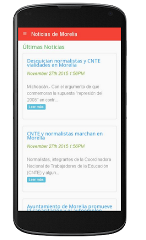 android Noticias de Morelia Screenshot 0