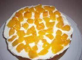 Peaches And Cream Cake Deluxe