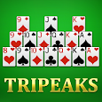 Solitaire TriPeaks - Best Free Classic Card Games icon