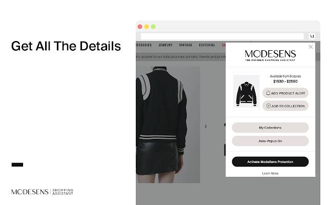 ModeSens Shopping Assistant