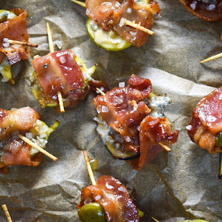 Bacon-Wrapped Figs with Blue Cheese and Bourbon Recipe
