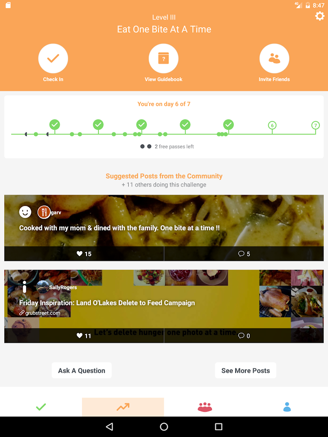 Foodstand- screenshot