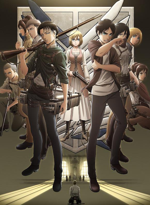 Imagen promocional, Shingeki no Kyojin Season 3.