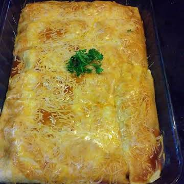 Not Your Average Chicken Enchiladas