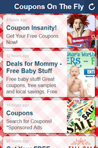 Coupons On The Fly screenshot 0