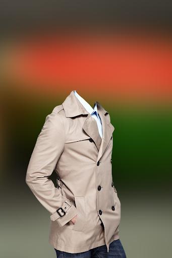 Man Trench Coat Photo Suit