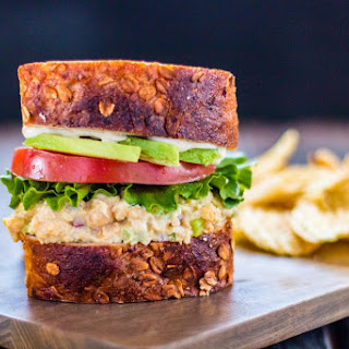 "Chickpea ""Tuna"" Salad Sandwich."
