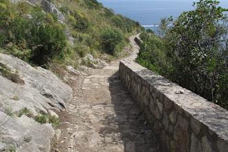 Photo: Si riescono a intravedere anche un paio di vecchi scalini