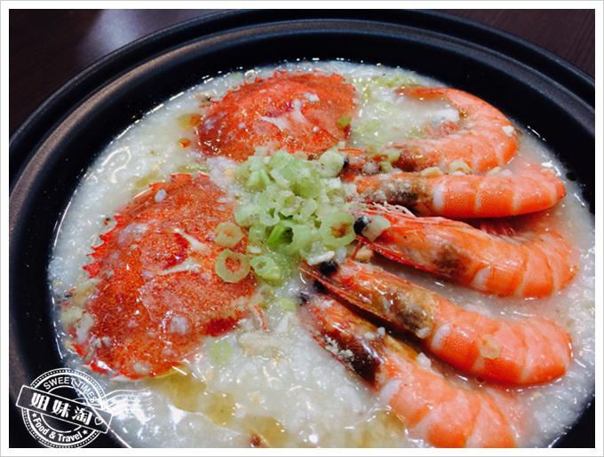 鮮記螃蟹海鮮粥超重料頂級砂鍋粥