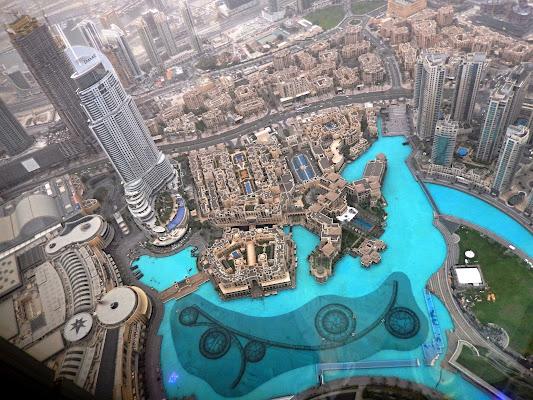 .. dal 125° piano … del Burj Khalifa, oltre i 460 metri di altezza di Rodema