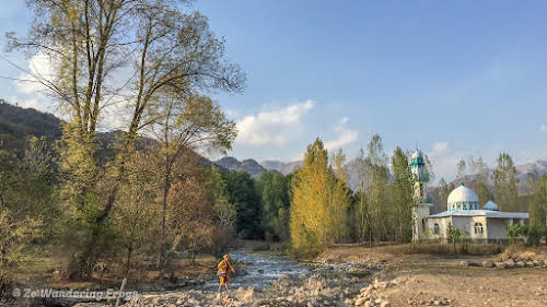 Kyrgyzstan Trekking: Guide to Sary-Chelek in the Tian Shan Mountains // Arkit Mosque under the Fall colors