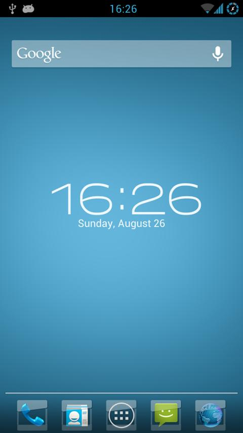 Скриншот Small Icons Apex/Nova Theme
