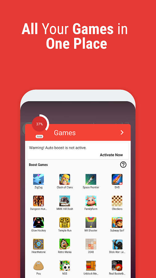 Game Booster | Play Games Faster & Smoother- screenshot