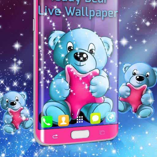 Teddy Bear Live Wallpaper screenshot 1