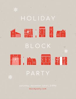 Winter Holiday Block Party - Party Invitation item