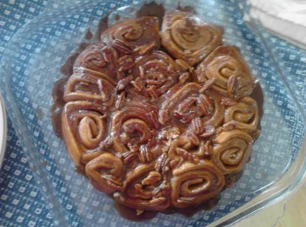 Caramel-pecan Cinnamon Rolls From Scratch Recipe