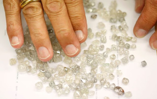 Diamonds. Picture: REUTERS