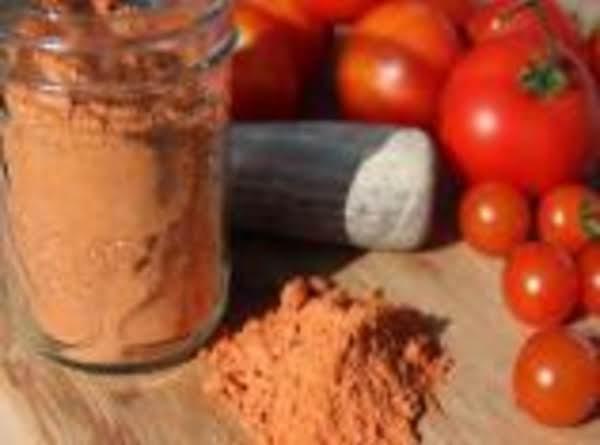 Dehydrator Tomato Powder Recipe