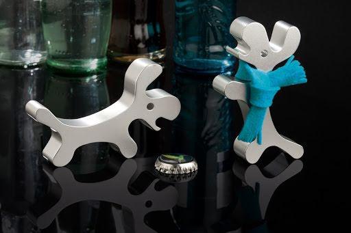 Dog bottle opener