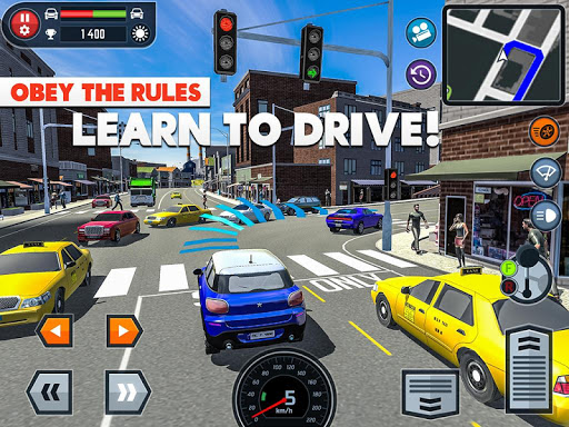Car Driving School Simulator  screenshots 7