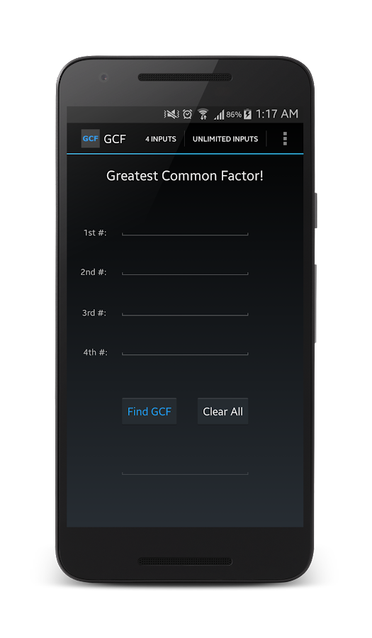 Greatest Common Factor!- screenshot
