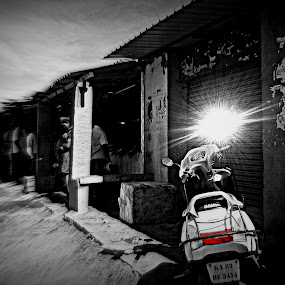 The Sun Is Just Another Accessory by Purbayan Bhattacharyya - Instagram & Mobile Android