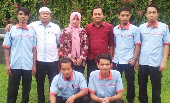 Bersama Team Mekanikal dan Elektrikal Di RS.Rumah Sehat Terpadu Dompet Dhuafa