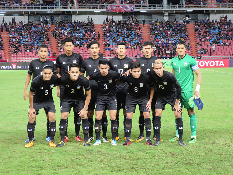 Thailand National soccer team | Image courtesy of Wikipedia