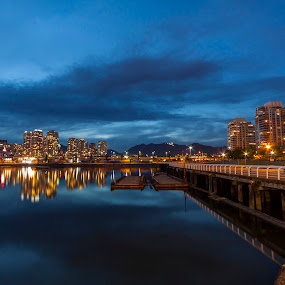 Three Years Later (Vancouver Still Welcomes The World) by Nico Carbajales - City,  Street & Park  Skylines