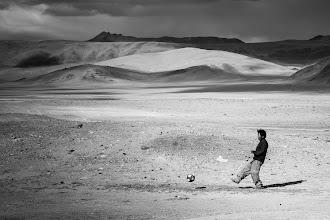 Photo: Lake Tso Kar (elevation 4,530 metres), Manali-Leh Highway, Ladakh, Indian Himalayas