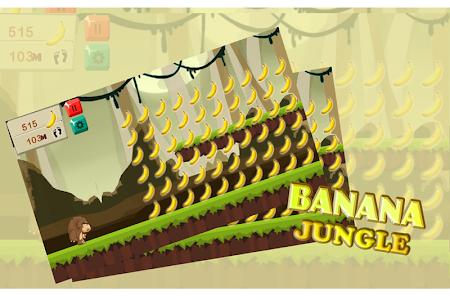 Banana Jungle Kong Run screenshot 1