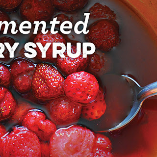 Fermented Berry Syrup