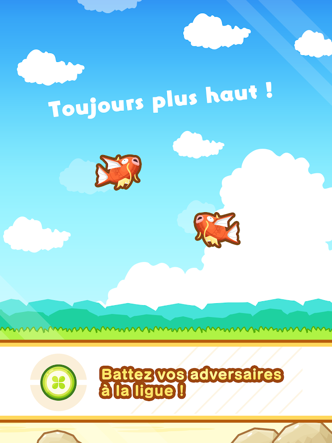 Pokémon : Magicarpe Jump – Capture d'écran