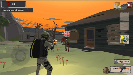 Zombie Hunter Shooter Survival android2mod screenshots 2