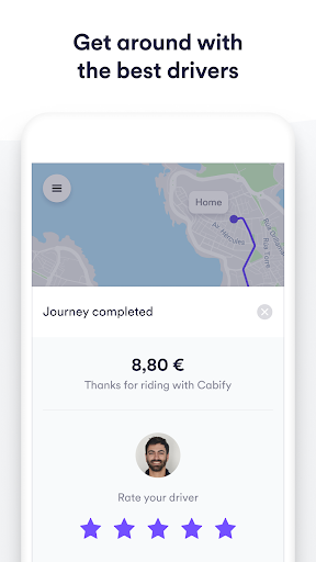 Cabify screenshot 3