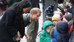 El príncipe Harry y Meghan Markle, en una visita a Bristol en febrero del pasado año.