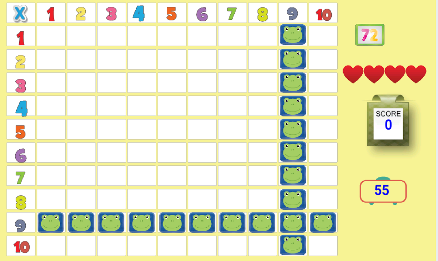 Kids multiplication tables android apps on google play kids multiplication tables screenshot gamestrikefo Gallery