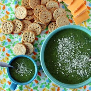 Mama and Me Broccoli Pea Soup