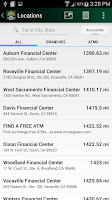 Screenshot of First Northern Mobile Banking