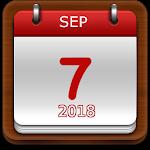 Brasil Calendário 2018 Icon