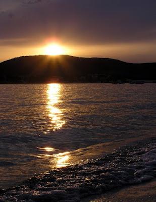 tramonto spiaggia di alghero di aleimage