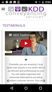 KDD Conveyancing Services- screenshot thumbnail