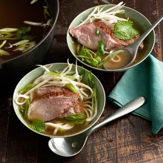 Duck and Noodle Soup.