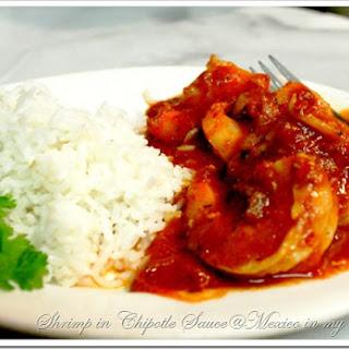 Shrimp in Chipotle Sauce Recipe / Camarones en Salsa de Chile Chipotle