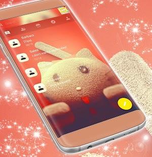 Cat SMS téma zdarma 2017 - náhled